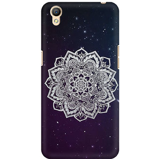 RAYITE Mandala Stars Premium Printed Mobile Back Case Cover For Oppo A37