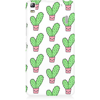 RAYITE Cactus Pattern Premium Printed Mobile Back Case Cover For Lenovo K3 Note