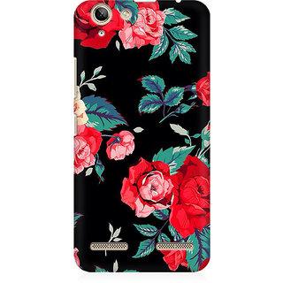 RAYITE Black Rose Print Premium Printed Mobile Back Case Cover For Lenovo K5 Plus