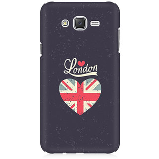 RAYITE London Love Premium Printed Mobile Back Case Cover For Samsung J7
