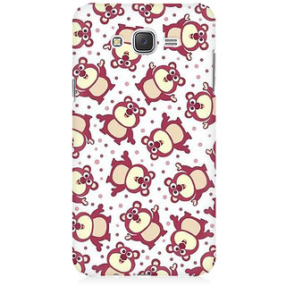 RAYITE Cute Pandas Pattern Premium Printed Mobile Back Case Cover For Samsung J7