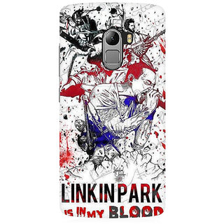 RAYITE Linkin Park Premium Printed Mobile Back Case Cover For Lenovo K4 Note