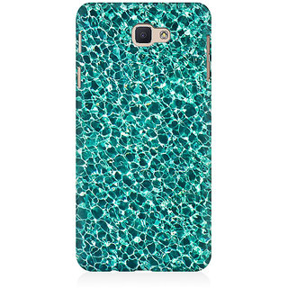RAYITE Water Glitter Print Premium Printed Mobile Back Case Cover For Samsung J7 Prime