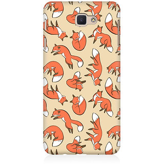 RAYITE Wolves Pattern Premium Printed Mobile Back Case Cover For Samsung J7 Prime
