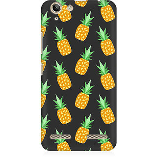 RAYITE Geometric Pineapple Premium Printed Mobile Back Case Cover For Lenovo Lemon 3