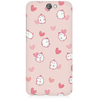 RAYITE Cute Puppy Toon Premium Printed Mobile Back Case Cover For HTC One A9