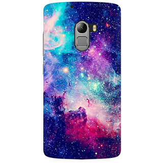 RAYITE Blue Galaxy Hub Premium Printed Mobile Back Case Cover For Lenovo A7010