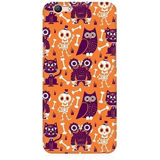 RAYITE Funny Monster Premium Printed Mobile Back Case Cover For Oppo A59