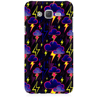 RAYITE Cloud And Thunderstorme Premium Printed Mobile Back Case Cover For Samsung J7
