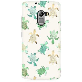RAYITE Watercolor Turtle Premium Printed Mobile Back Case Cover For Lenovo K4 Note