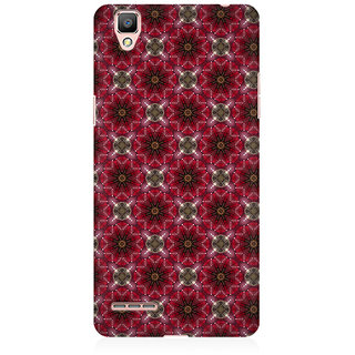 RAYITE Starry Pattern Premium Printed Mobile Back Case Cover For Oppo A35