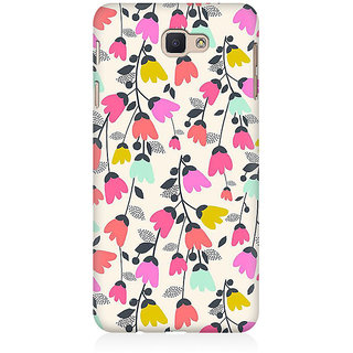 RAYITE Floral Jingle Pattern Premium Printed Mobile Back Case Cover For Samsung J7 Prime