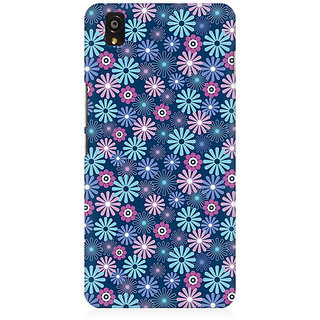 RAYITE Little Flower Premium Printed Mobile Back Case Cover For OnePlus X