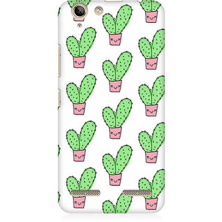 RAYITE Cactus Pattern Premium Printed Mobile Back Case Cover For Lenovo Lemon 3