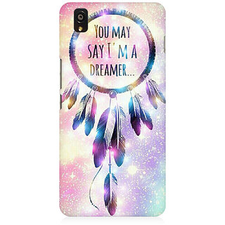 RAYITE I Am A Dreamer Premium Printed Mobile Back Case Cover For OnePlus X