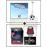 Hanging Football Car Air Freshener Perfume + Hp Bike Air Filter