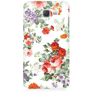 RAYITE Flower Pattern Premium Printed Mobile Back Case Cover For Samsung J7 2016 Version