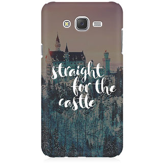 RAYITE Straight For The Castle Premium Printed Mobile Back Case Cover For Samsung J7 2016 Version