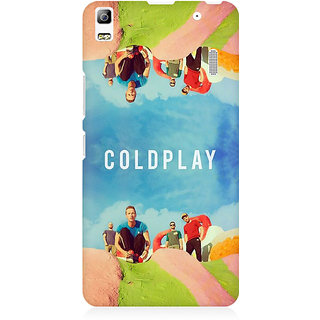 RAYITE Coldplay Premium Printed Mobile Back Case Cover For Lenovo A7000