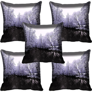 meSleep Nature Digital printed Cushion Cover (12x12) - 12CD-60-356-05