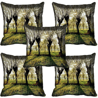 meSleep Nature Digital printed Cushion Cover (12x12) - 12CD-65-291-05