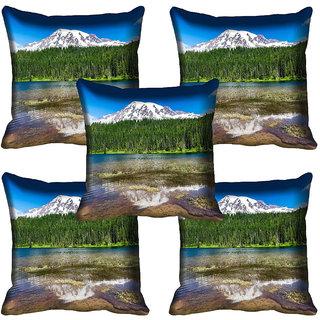 meSleep Nature Digital printed Cushion Cover (12x12) - 12CD-65-338-05