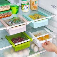 Multifuction Plastic Kitchen Refrigerator Storage Rack Home Fridge Shelf Tray (Pack of 1)