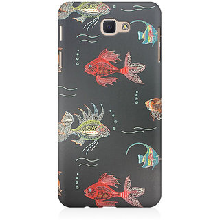 RAYITE Fish Premium Printed Mobile Back Case Cover For Samsung J7 Prime