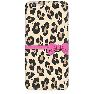 RAYITE Cheetah Gift Wrap Premium Printed Mobile Back Case Cover For Oppo A59