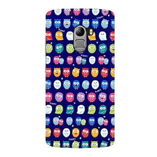 RAYITE Tiny Owl Pattern Premium Printed Mobile Back Case Cover For Lenovo K4 Note