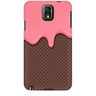 RAYITE Cream Drop Chocolate Premium Printed Mobile Back Case Cover For Samsung Note 3