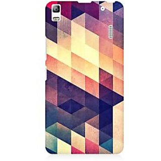 RAYITE Geometric Abstract Art Premium Printed Mobile Back Case Cover For Lenovo K3 Note