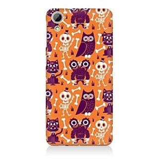 RAYITE Funny Monster Premium Printed Mobile Back Case Cover For HTC Desire 820