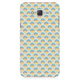 RAYITE Colourful Shell Pattern Premium Printed Mobile Back Case Cover For Samsung J7
