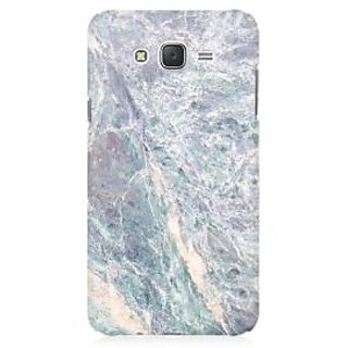 RAYITE Grey Marble Premium Printed Mobile Back Case Cover For Samsung J7