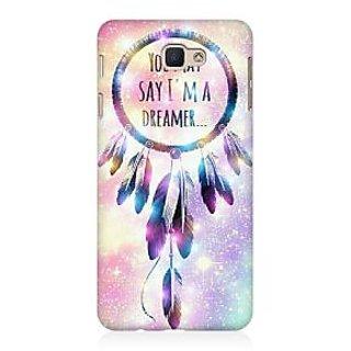 RAYITE I Am A Dreamer Premium Printed Mobile Back Case Cover For Samsung J7 Prime