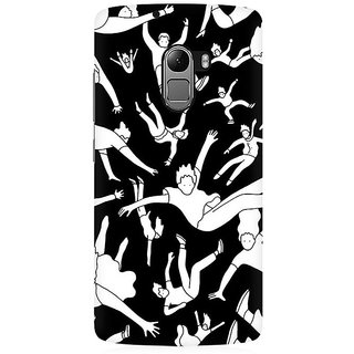 RAYITE People Pattern Premium Printed Mobile Back Case Cover For Lenovo A7010