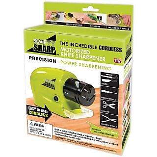 CPEX Swifty Sharp Cordless Motorized Knife Sharpener For Knife,Scissor and Screw Driwer
