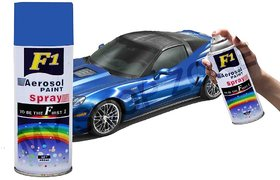 F1 Aerosol Spray Paint Blue 450ml - Car/bike Multi Purpose