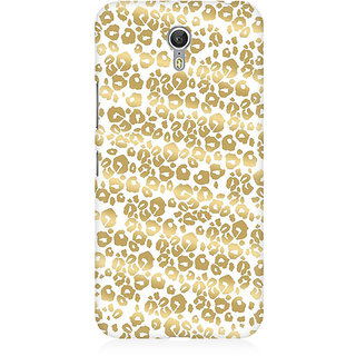 RAYITE Golden Cheetah Pattern Premium Printed Mobile Back Case Cover For Lenovo Zuk Z1