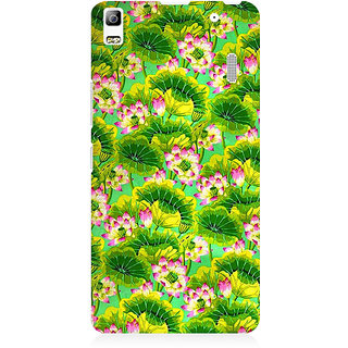 RAYITE Tropical Floral Premium Printed Mobile Back Case Cover For Lenovo K3 Note