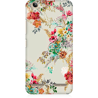 RAYITE Flower Abstract Premium Printed Mobile Back Case Cover For Lenovo K5 Plus