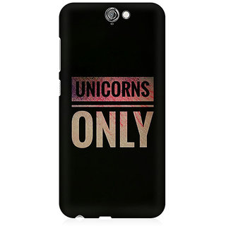 RAYITE Unicorns Only Premium Printed Mobile Back Case Cover For HTC One A9