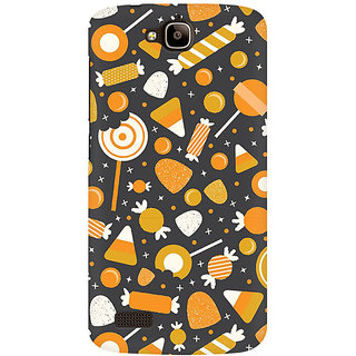 RAYITE Toffees Premium Printed Mobile Back Case Cover For Huawei Honor Holly