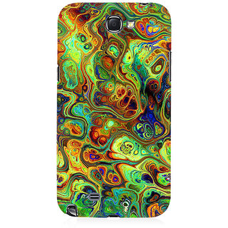 RAYITE Abalone Premium Printed Mobile Back Case Cover For Samsung Note 2