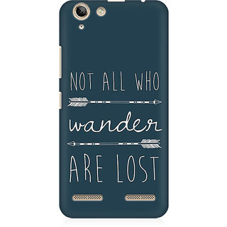 RAYITE Wander Lost Premium Printed Mobile Back Case Cover For Lenovo Lemon 3