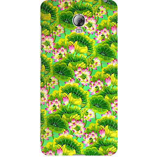 RAYITE Tropical Floral Premium Printed Mobile Back Case Cover For Lenovo Vibe P1