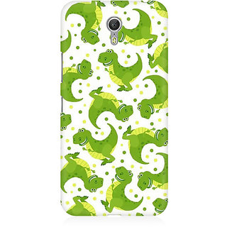 RAYITE Dinosaur Pattern Premium Printed Mobile Back Case Cover For Lenovo Zuk Z1