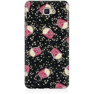 RAYITE Pop Corn Pattern Premium Printed Mobile Back Case Cover For Samsung J7 Prime