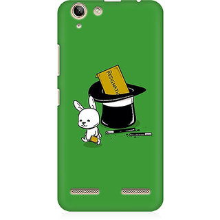 RAYITE Resignation By Rabbit Premium Printed Mobile Back Case Cover For Lenovo K5 Plus